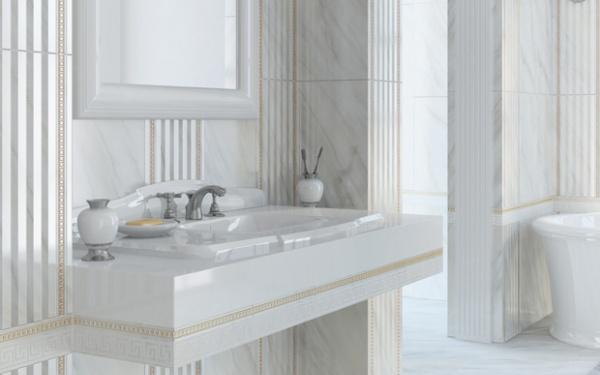 Carrara|Golden Tile