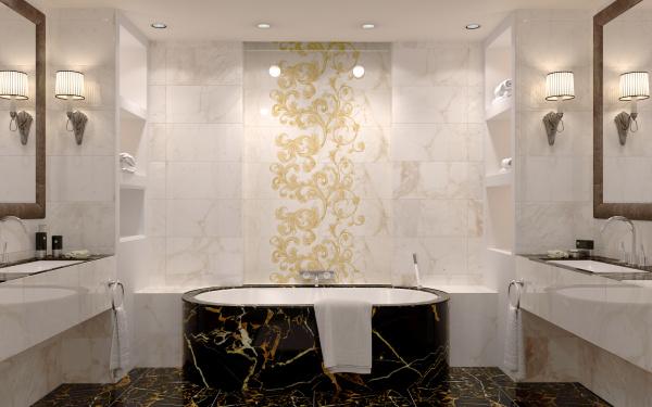 Saint Laurent   Golden Tile
