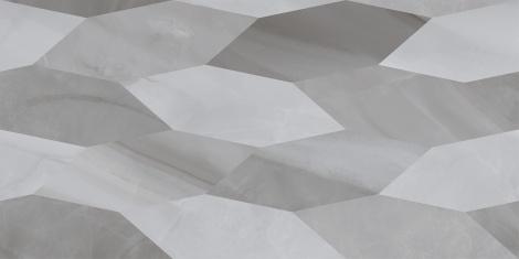 LAZURRO Leaves сірий 300x600x9 мм