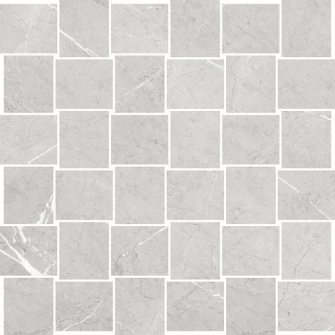 BEATRIS LIGHT GREY MOSAIC 29,7 x 29,7