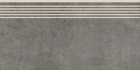 HIGHBROOK DARK GREY STEPTREAD 29,8x59,8