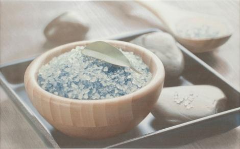 OLIVIA DECOR BLUE SPA1 25x40