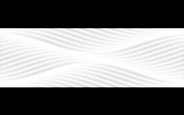 BLACK&WHITE Білий Рельєфний 25x80