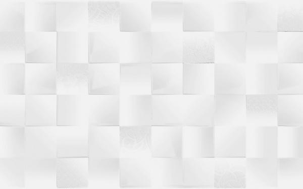 САТИН Белый рельеф 300x600x9 мм