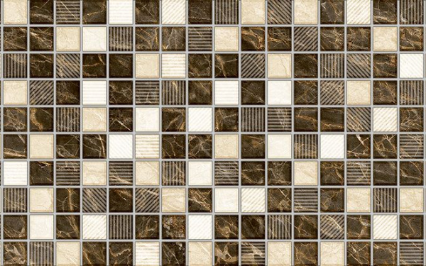 Декор Fenix серый 4   Д93071-3