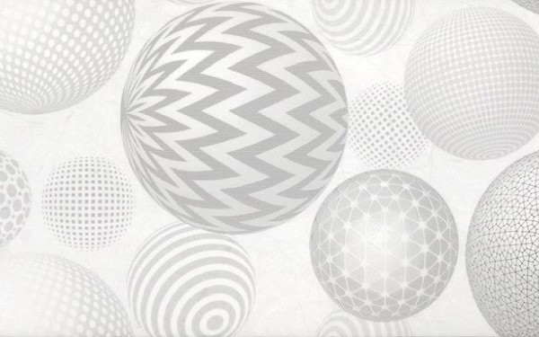 PALMIRA сіра-світла малюнок 23x60 195 071-1